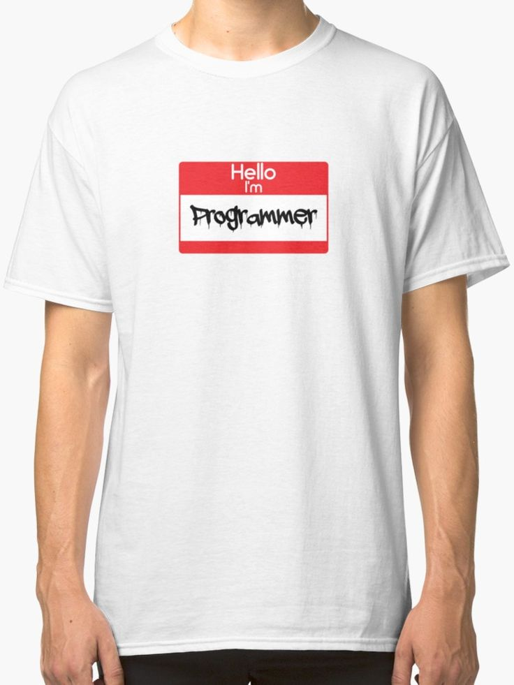 Hello i'm Programmer by 47T-Shirts
