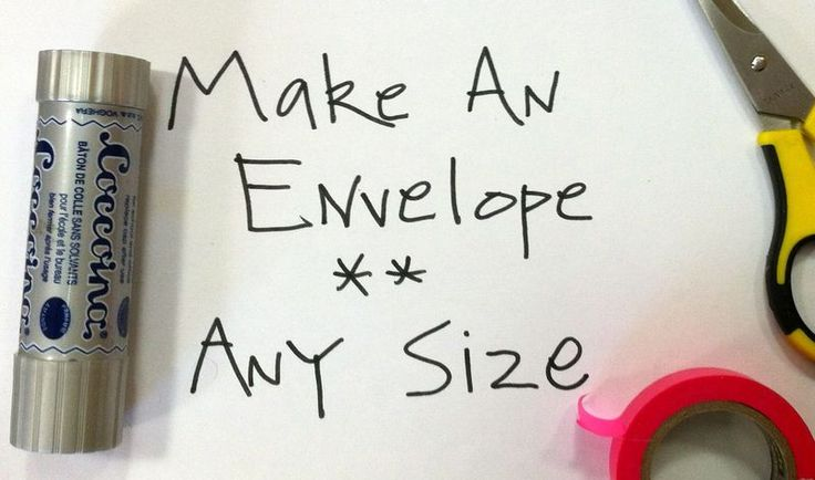 Make an Envelope - any size - Diana Trout