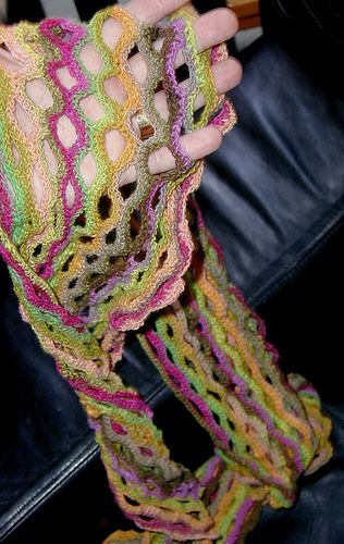 scarf - free pattern