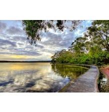 Boardwalk Merimbula Lake