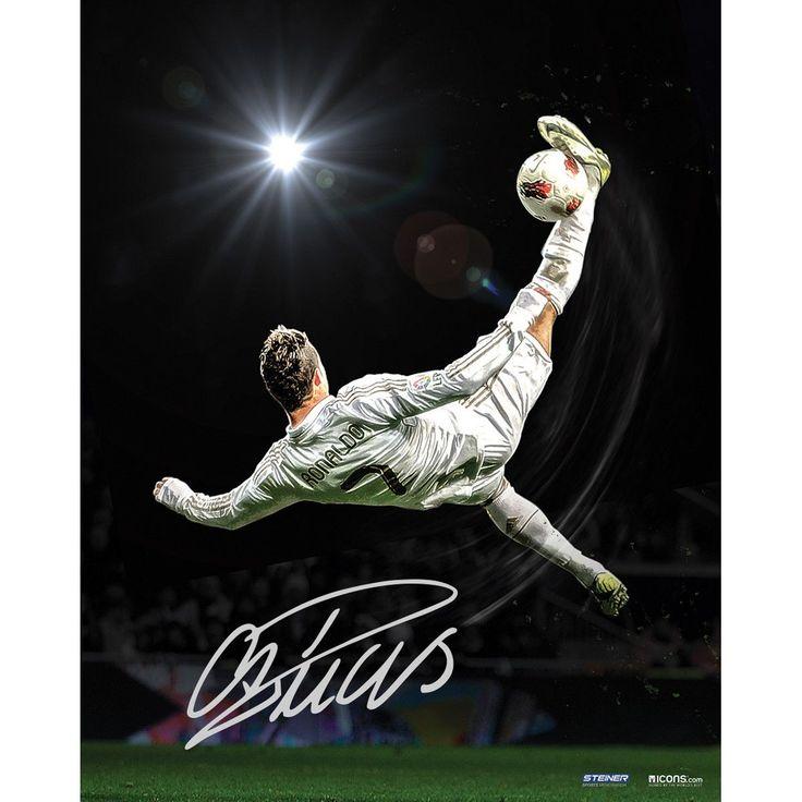 Cristiano Ronaldo Signed Bicycle Kick 16x20 Photo ( Icon Auth)