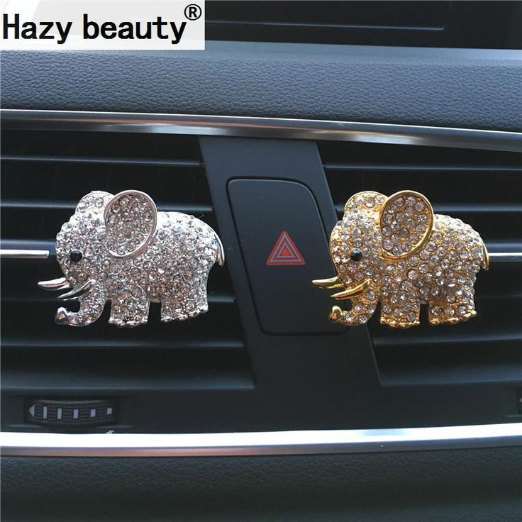 Cheap car perfume clip, Buy Quality air freshener directly from China car perfume Suppliers: Hazy beauty High-grade diamond crystal elephant car perfume clip lady car styling air outlet accessories Air Freshener Styling