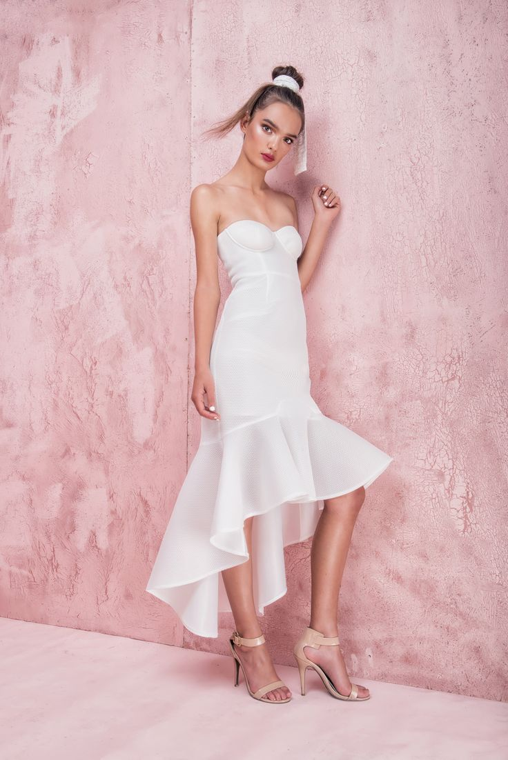 Casper and Pearl - Blanca Dress - White