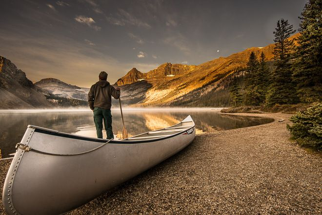 Morning silence // by Uilleac Malloy, Banff, AB