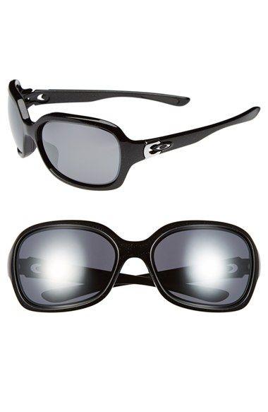 Women's Oakley 'Pulse' 61mm Sunglasses - Metallic Black
