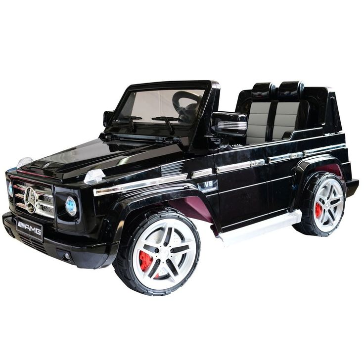 12v kids mercedes benz g55 electric battery toy car truck ride on w remote