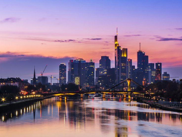 https://flic.kr/p/q3GnUE | Frankfurt Skyline