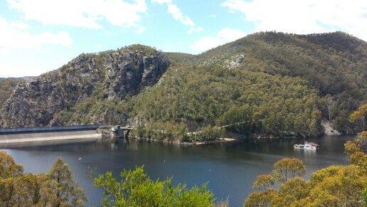 Cethana dam, Tassie
