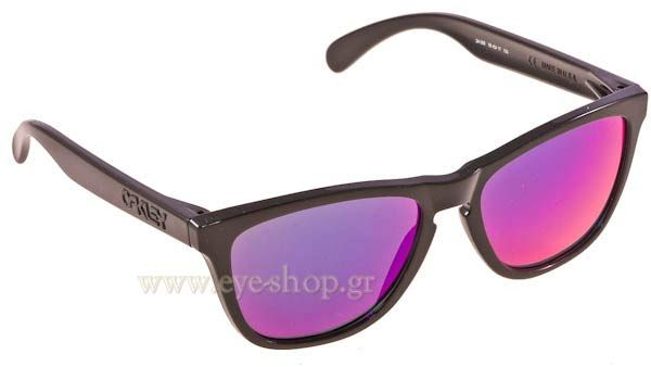 Γυαλιά Ηλίου  Oakley Frogskins 9013 24-358 Aquatique Abuss blue Iridium Τιμή: 119,00