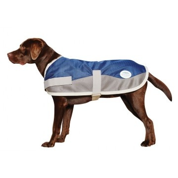 NEW WEATHERBEETA RAINSTOP DOG COAT- Very strong Diamon Weave, fully waterproof and breathable outer shell with added mesh panels to aid with cooling. Perfect to keep your dog protected from the rain on warmer days whilst keeping them cool with carefully positioned mesh panels. Features, night vision, taped seams, very strong outer, machine wash!