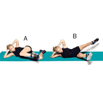 Tracy Anderson shares her top exercises for flat abs and a stronger core. Work these moves into your routine if you want to tighten up your tummy.   Health.com