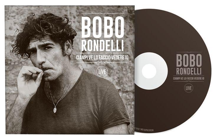 """Bobo Rondelli """"Ciampi ve lo faccio vedere io"""", in uscita il 19 dicembre. Progetto grafico a cura di Genial Pixel."""