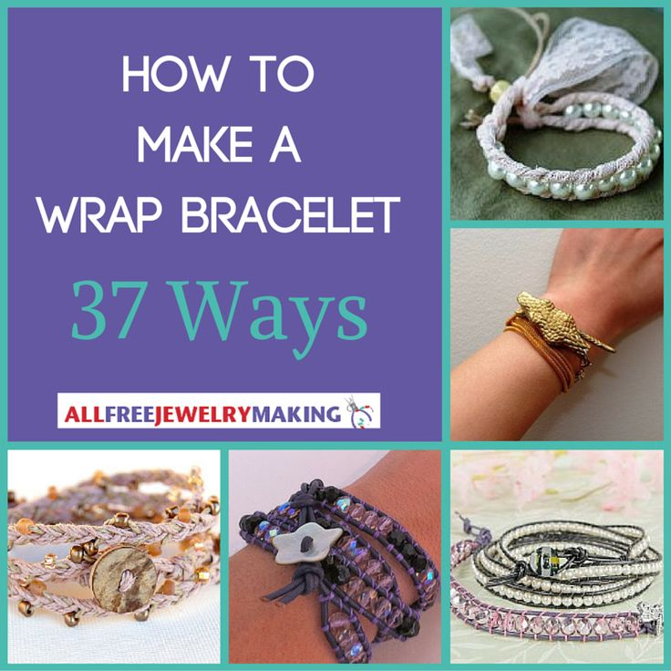"<a href=""http://www.allfreejewelrymaking.com/tag/DIY-Wrap-Bracelet"" target=""_blank"">Wrap bracelets</a> are all the rage lately, and there are so many different variations of this jewelry-making trend. From <a href=""http://www.allfreejewelrymaking.com/Leather-Jewelry/21-Leather-DIY-Jewelry-Tutorials"" target=""_blank"">l..."