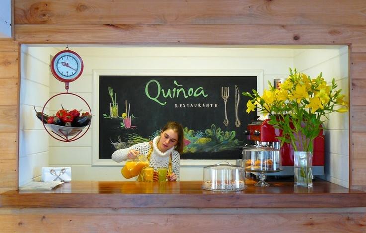 Quinoa Restaurante - Cocina Vegetariana en Vitacura