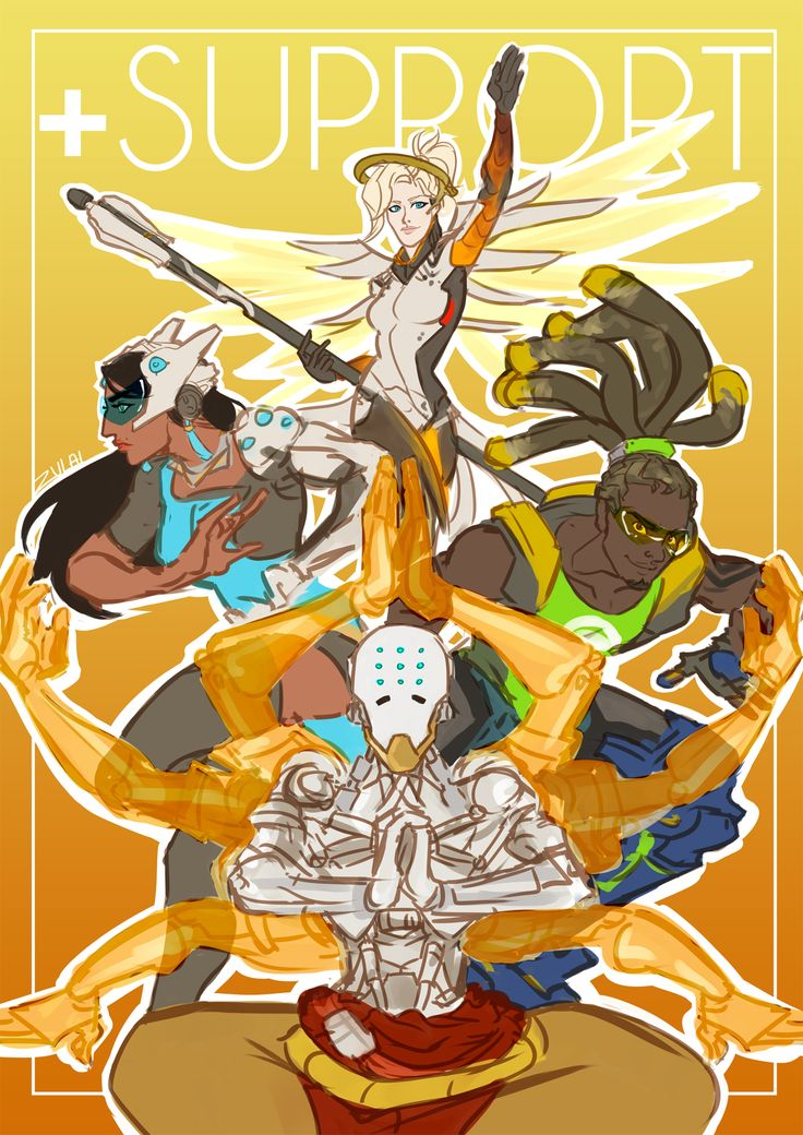 Overwatch - The Support Magazine Cover
