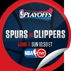 San Antonio Spurs vs. LA Clippers #4