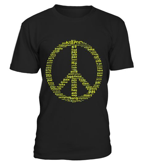 "# PEACE in over 100 languages T-Shirt .  Special Offer, not available in shops      Comes in a variety of styles and colours      Buy yours now before it is too late!      Secured payment via Visa / Mastercard / Amex / PayPal      How to place an order            Choose the model from the drop-down menu      Click on ""Buy it now""      Choose the size and the quantity      Add your delivery address and bank details      And that's it!      Tags: English Norwegian Polish Portuguese Romanian…"