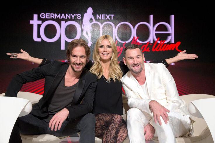 """Heidi Klum sucht mit Designer MichaelMichalskyund Modelagent ThomasHayo """"Germany'snextTopmodel"""" 2016.ProSiebenstrahlt die elfte Staffel imFrühjahr2016 aus."""