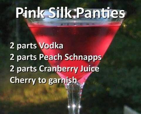 Pink Silk Panties
