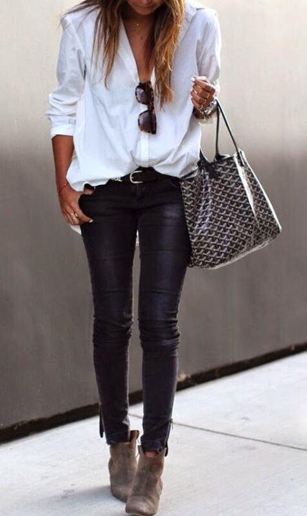 Leather pants | Outfits