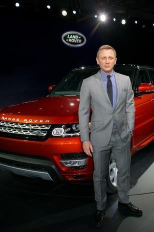 Nova Range Rover Sport.