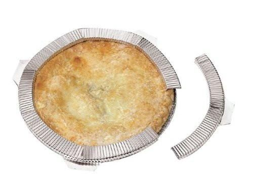 "Mrs Anderson's 5 pc Reusable Pie Crust Shield - Fits Up To 10"" Pans"