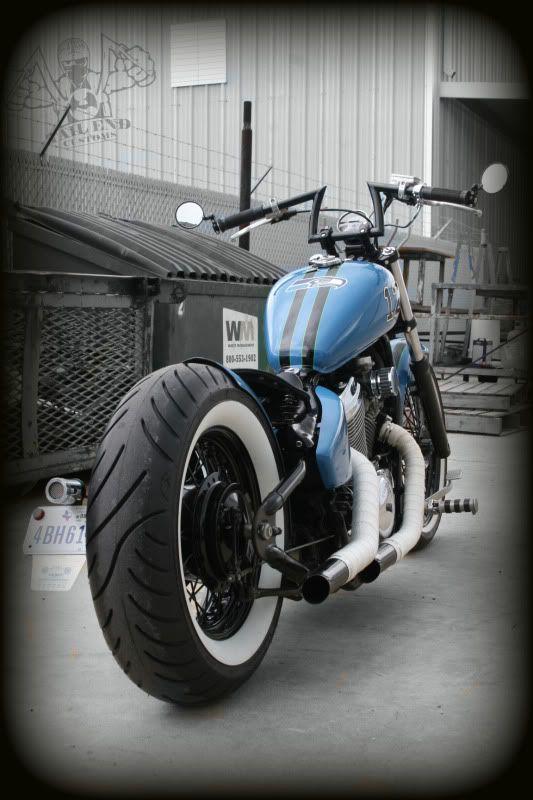 chopcult - 2001 Honda vlx600 Seahawk Custom Bobber