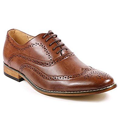 Amazon.com   UV SIGNATURE UV002 Men's Wing Tip Perforated Lace Up Oxford Dress Shoes   Oxfords
