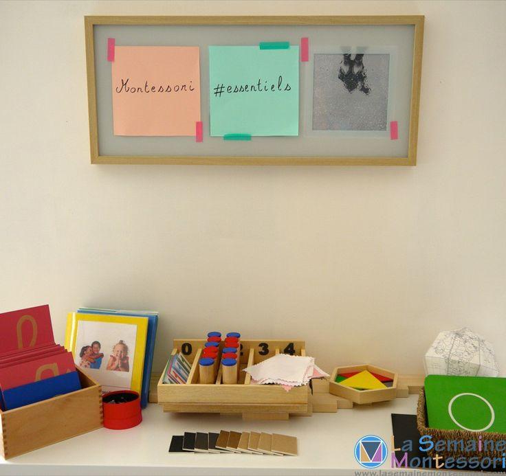 Quel matériel pour une première classe Montessori ? Le point en détail et en images...