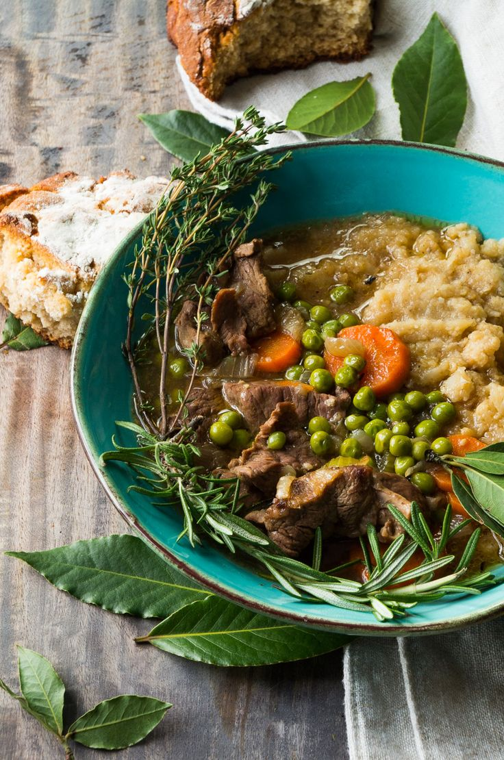 Irish Lamb Stew- an authentic Irish recipe that is gluten free and Whole30 friendly!  thekitcheneer.com