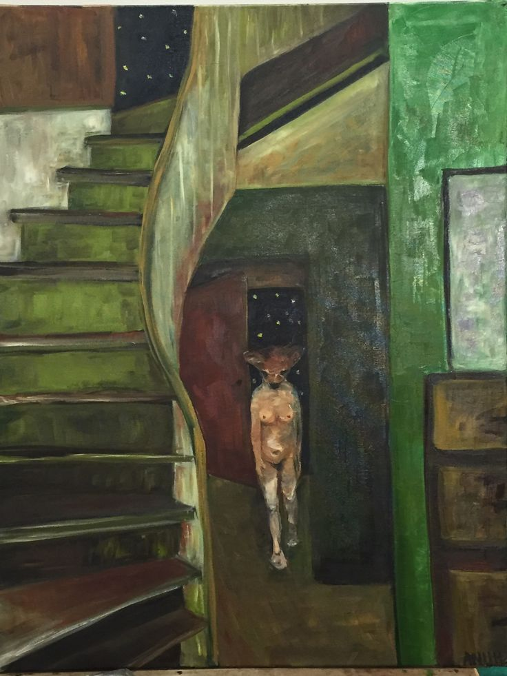 welcome to therapy, 2016 oil on canvas Anu Pensola