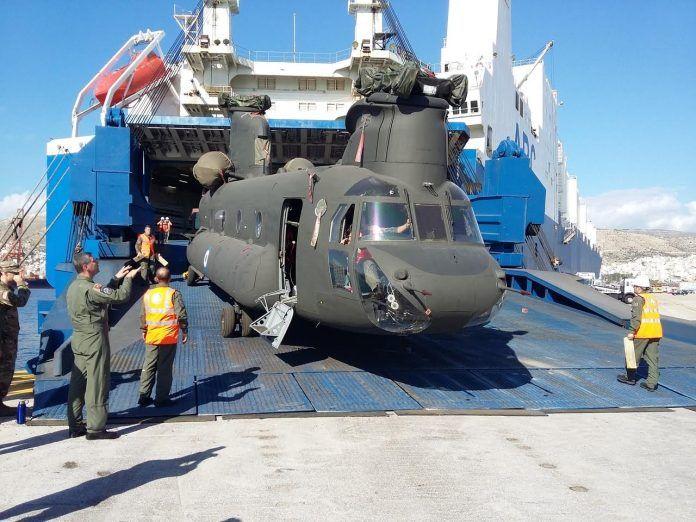 Yunani Terima Helikopter Angkut Berat CH-47 Chinook | http://www.hobbymiliter.com/4867/yunani-terima-helikopter-angkut-berat-ch-47-chinook/