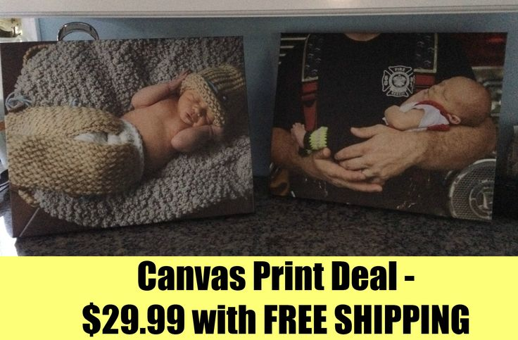 Canvas Print Deal: $30 for 16×20 Gallery Wrapped Canvas Print + FREE Shipping ($126.95 Value)