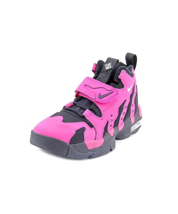 sale retailer bc2cd 662ac ... NIKE NIKE AIR DT MAX 96 MEN ROUND TOE PATENT LEATHER PINK BASKETBALL  SHOE.