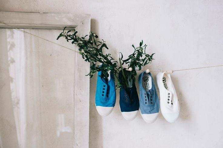 Zapatillas de lona de #naturalworld. ¡Disfruta de la primavera con Pepa&Cris!