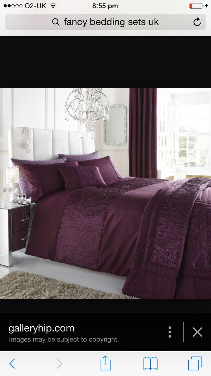 2015 08 decorating with plum and damson - Plum Bed Set