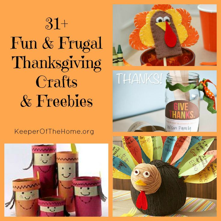 31+ Fun & Frugal Thanksgiving Activities & Freebies for Kids