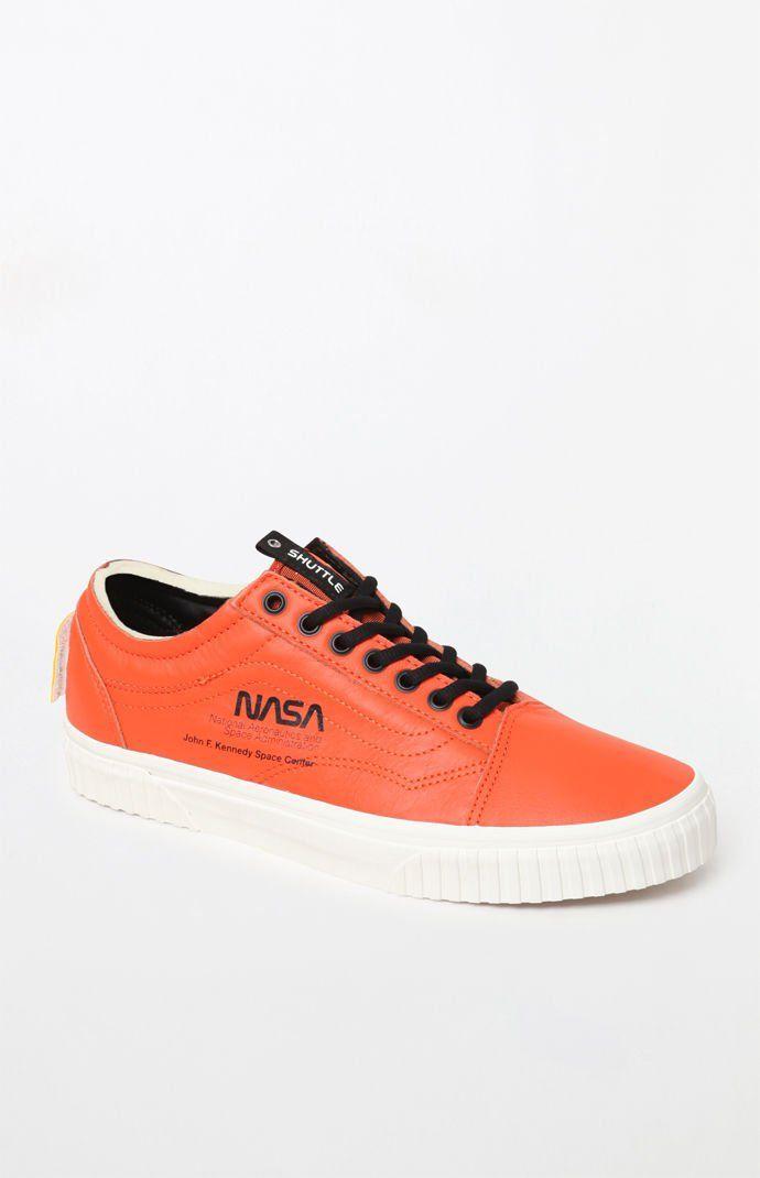 Vans x NASA Space Voyager Old Skool Orange Shoes | Orange
