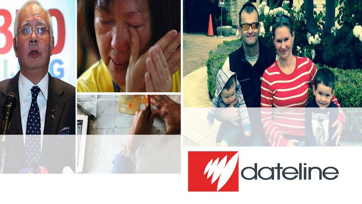 Dateline follows Perth mother Danica Weeks through the most difficult year of her life - not knowing what happened to her husband Paul or how to explain it to their two young children. Plus the latest on the vast ocean search off Western Australia.