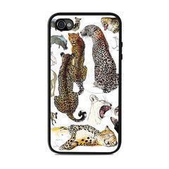 Animal Art Collage Mina Milk Unique Iphone 4 / 4s Cases