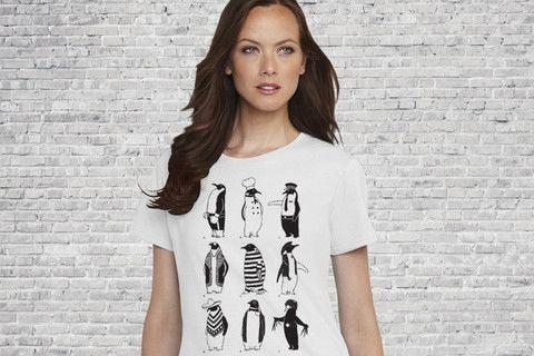 Antarctic Society - Gals T-shirt