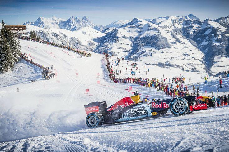 GALERIE: Tomu neuvěříte: Formule 1 se nebojí sněhu, řádí na sjezdovce v Alpách (videa) | FOTO 28 | auto.cz