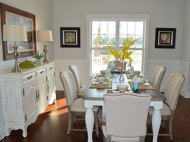 Dining Area With Wainscoting ~ Ideas to try about dining areas a well herons and