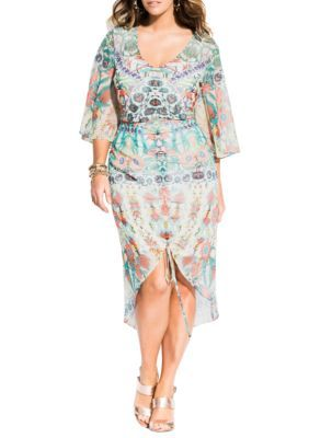 City Chic Plus Size Budapest Dress