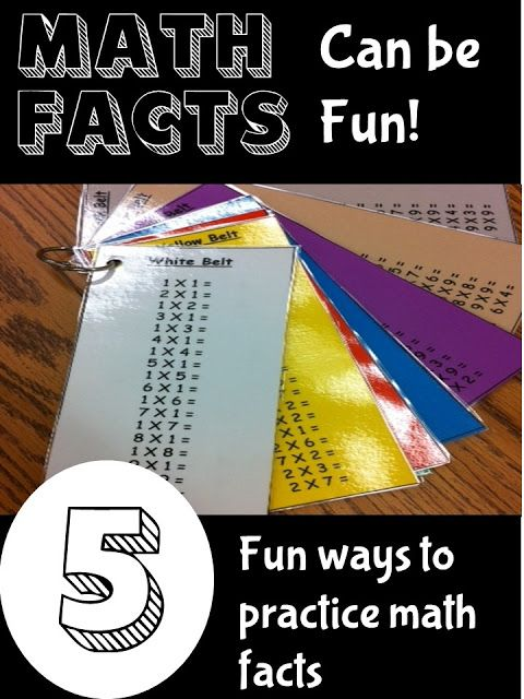 5 Ways to Make Fact Fluency Fun