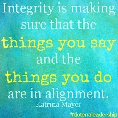 An article by Tamara Rant on what it means to be living in integrity & how to recognize the signs to know when you've fallen out of alignment with your own.