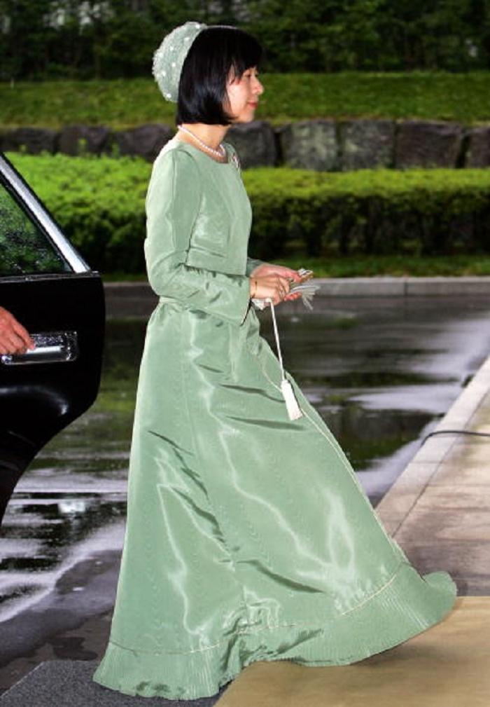 紀宮清子内親王(のりのみやさやこないしんのう)殿下(当時) Princess Sayako of Japan arrives at the Imperial Palace