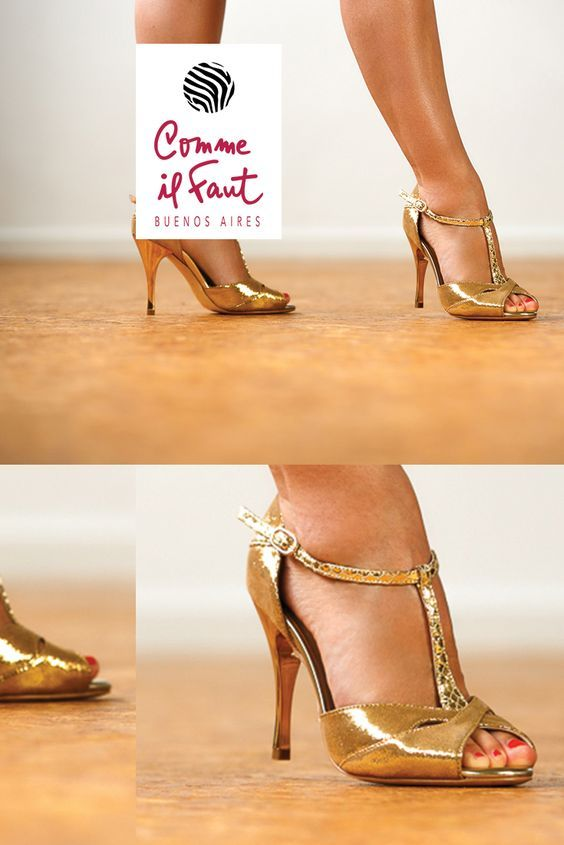 Beautiful Handmade Comme il Faut Dancing Shoes for Tango, Salsa and Bachata. New Collections Every Month Find them at Lisadore.com