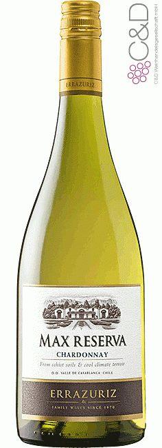 Folgen Sie diesem Link für mehr Details über den Wein: http://www.c-und-d.de/Chile/Chardonnay-Reserva-Max-2014-Errazuriz_58360.html?utm_source=58360&utm_medium=Link&utm_campaign=Pinterest&actid=453&refid=43 | #wine #whitewine #wein #weisswein #chile #chile #58360