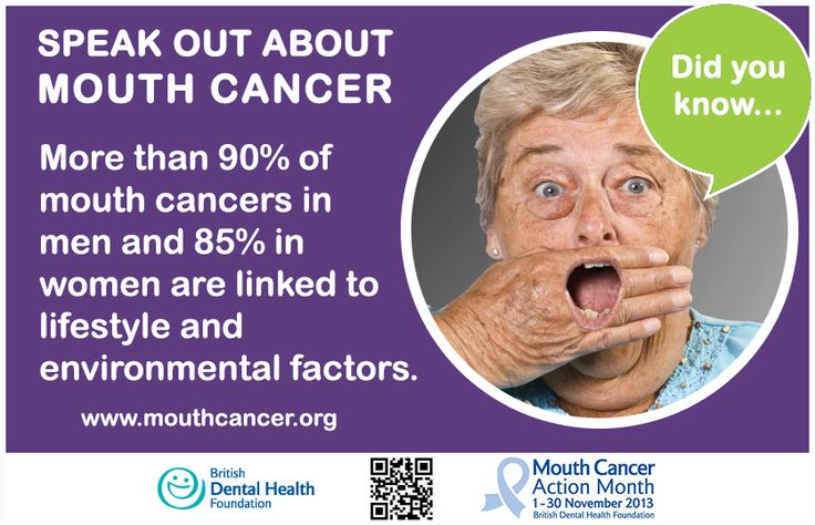 LIKE and SHARE: Did you know? More than 90% of mouth cancer cases in men and 85% in women are linked to lifestyle and environmental factors. #MCAM #MouthCancer #DidYouKnow http://www.mouthcancer.org/